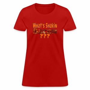 What's Shaken Bacon - Woman'sStandard Weight T-Shirt - Women's T-Shirt