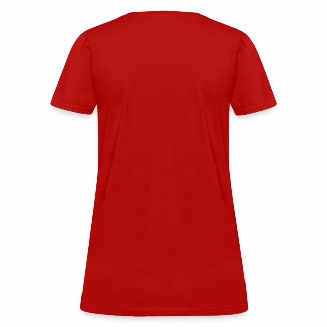 What's Shaken Bacon - Woman'sStandard Weight T-Shirt