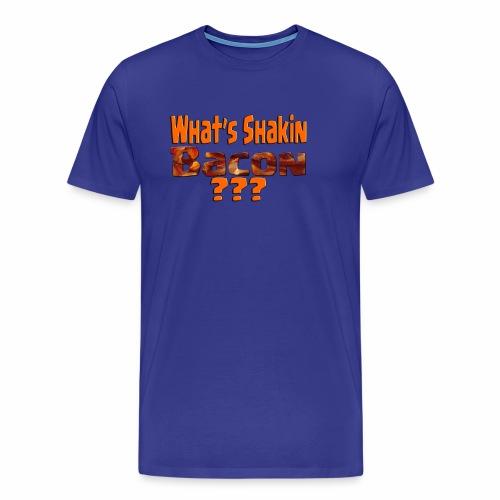 What's Shaken Bacon - Men's Heavyweight T-Shirt - Men's Premium T-Shirt