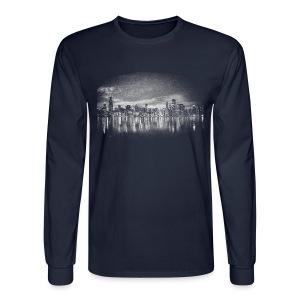 World's Greatest Skyline - Men's Long Sleeve T-Shirt