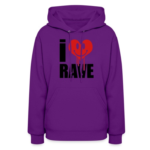I Love Rave - Women's Hoodie