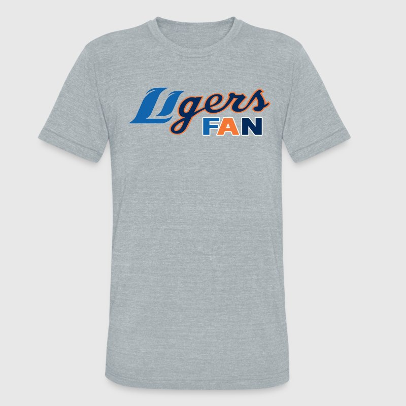 Ligers T-Shirts - Unisex Tri-Blend T-Shirt by American Apparel