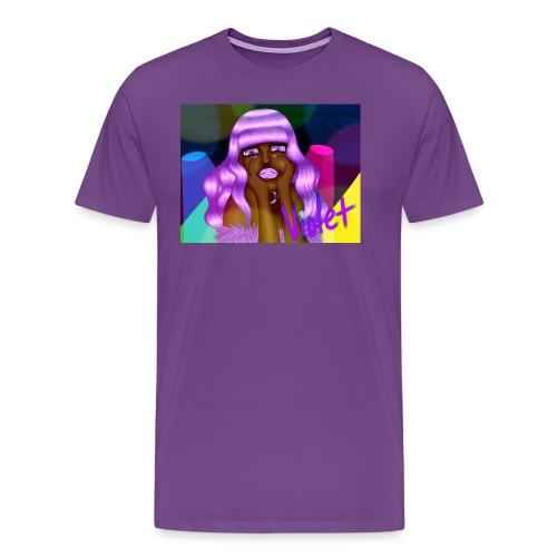 Violet - Men's Premium T-Shirt