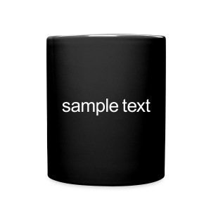 Sample text - Full Color Mug