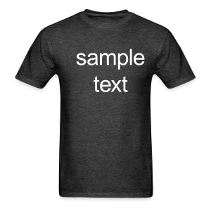 Sample text - Men's T-Shirt