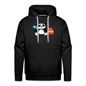 Glue Panda Hoodie (M) - Men's Premium Hoodie