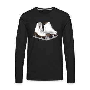 Figure Skating - Men's Premium Long Sleeve T-Shirt