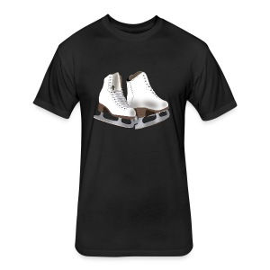 Figure Skating - Fitted Cotton/Poly T-Shirt by Next Level