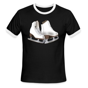 Figure Skating - Men's Ringer T-Shirt