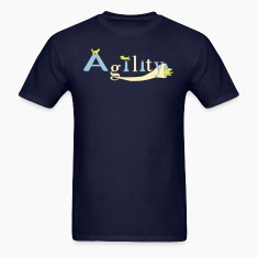 agility three dogs T-Shirts
