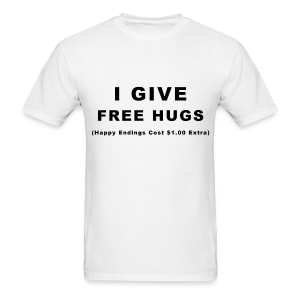 Free Hugs Mens - Men's T-Shirt