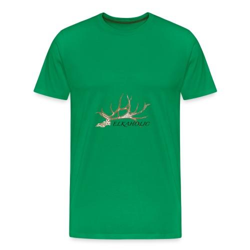 Elk skull 4 - Men's Premium T-Shirt