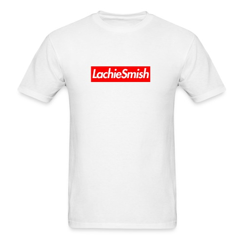 LachieSmish Box Logo - (Mens) T-Shirt - Men's T-Shirt