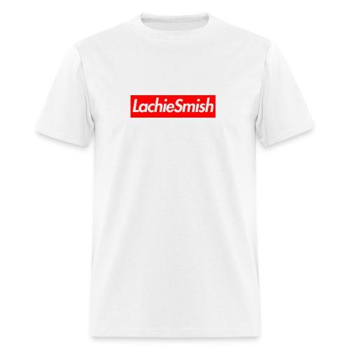 LachieSmish Box Logo - (Mens) T-Shirt - Men's T-Shirt
