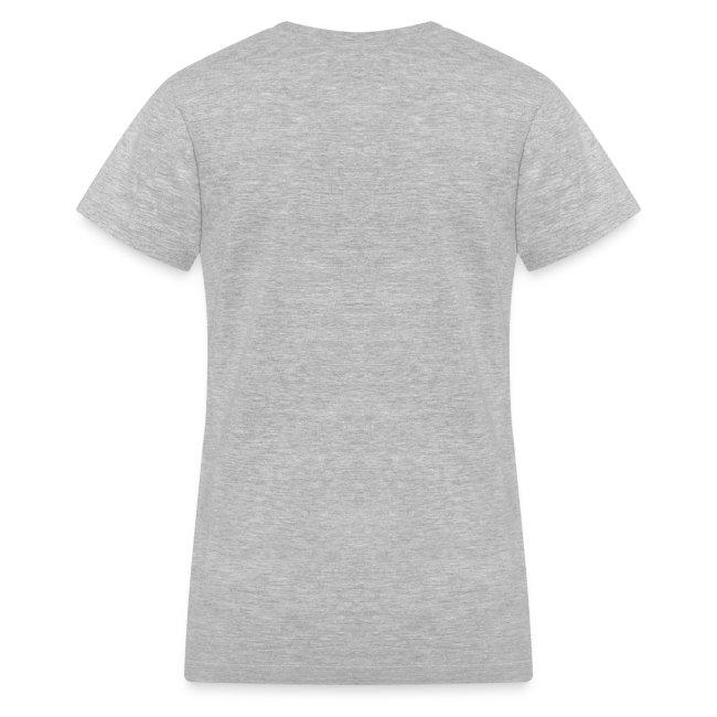 """Official Dogs Against Romney """"Paw"""" Women's  V-Neck T-Shirt"""