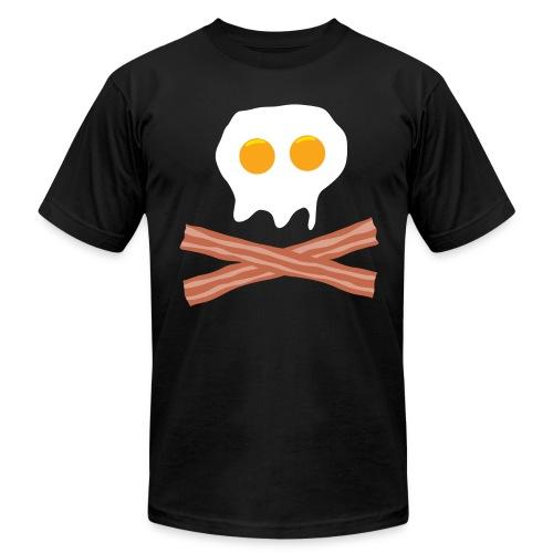 Eggs Bacon Skull - Men's Fine Jersey T-Shirt