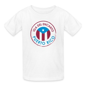 Isla del Encanto Puerto Rico - Kids' T-Shirt