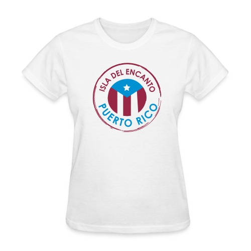 Isla del Encanto Puerto Rico - Women's T-Shirt