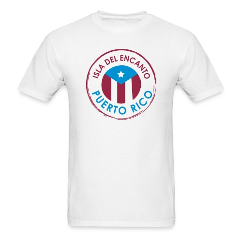 Isla del Encanto Puerto Rico - Men's T-Shirt