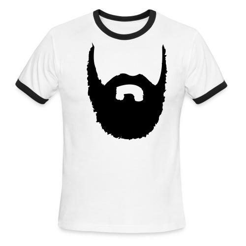 Ghost face T-Shirt - Men's Ringer T-Shirt