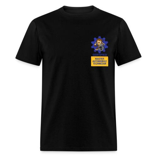 Certified Mechanic Monkey  - Men's T-Shirt