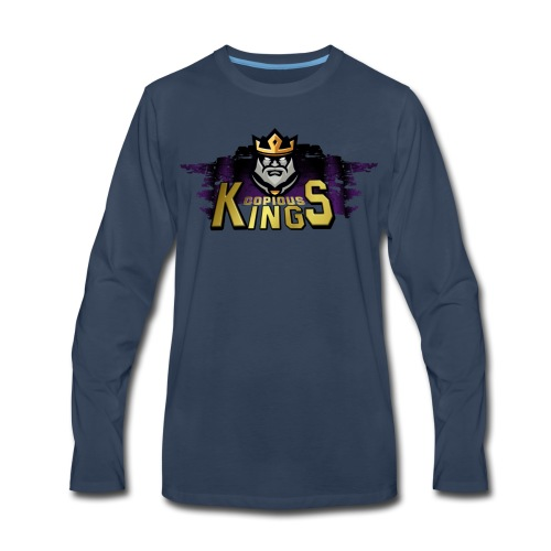 Copious Kings Long T - Men's Premium Long Sleeve T-Shirt
