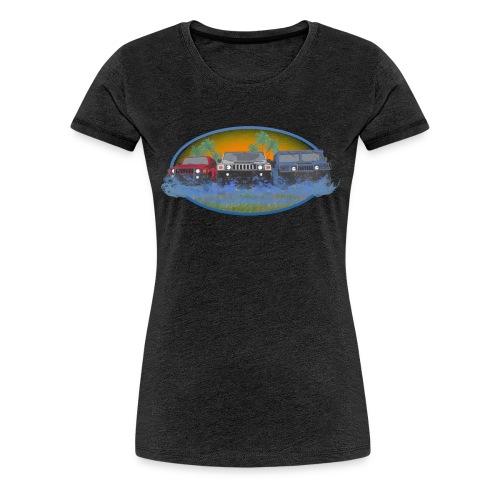 Original Florida Hummer Club Womens - Women's Premium T-Shirt