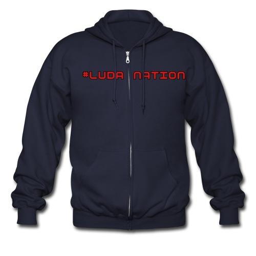 #LUDANATION  - Men's Zip Hoodie