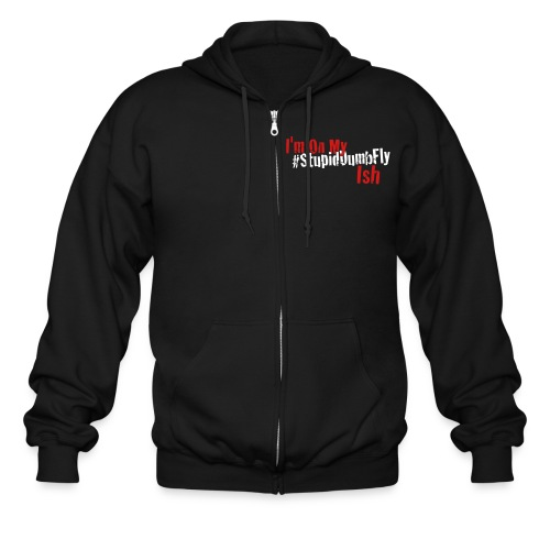 I'm on my... - Men's Zip Hoodie