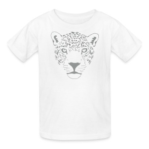 animal t-shirt jaguar cougar cat puma tiger panther leopard cheetah lion - Kids' T-Shirt