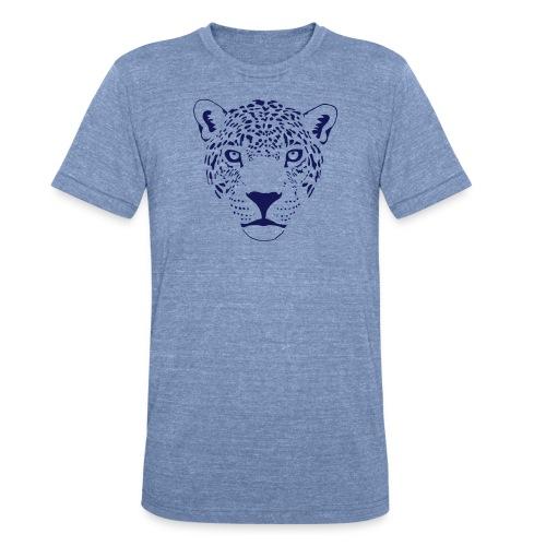 animal t-shirt jaguar cougar cat puma tiger panther leopard cheetah lion - Unisex Tri-Blend T-Shirt