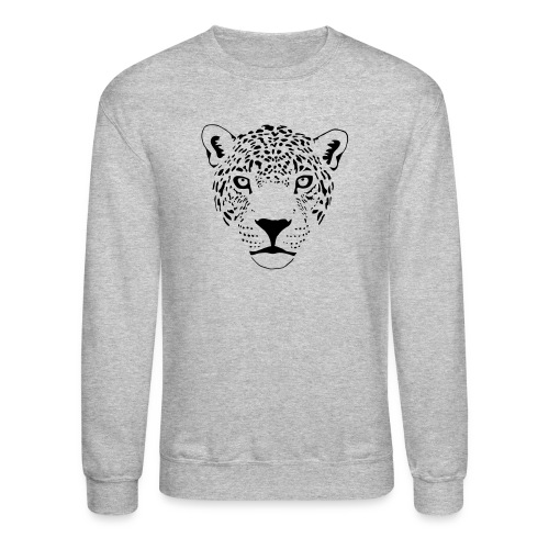 animal t-shirt jaguar cougar cat puma tiger panther leopard cheetah lion - Crewneck Sweatshirt
