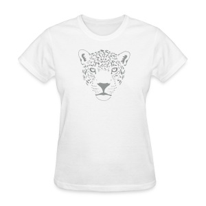 animal t-shirt jaguar cougar cat puma tiger panther leopard cheetah lion - Women's T-Shirt