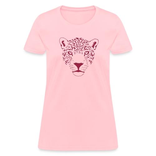 animal t-shirt jaguar cougar cat puma tiger panther leopard cheetah lion - Women's T-Shirt