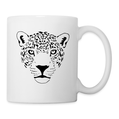 animal t-shirt jaguar cougar cat puma tiger panther leopard cheetah lion - Coffee/Tea Mug