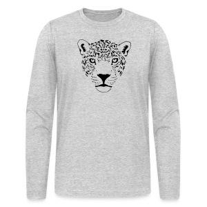 animal t-shirt jaguar cougar cat puma tiger panther leopard cheetah lion - Men's Long Sleeve T-Shirt by Next Level