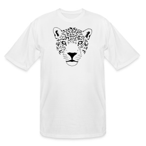 animal t-shirt jaguar cougar cat puma tiger panther leopard cheetah lion - Men's Tall T-Shirt