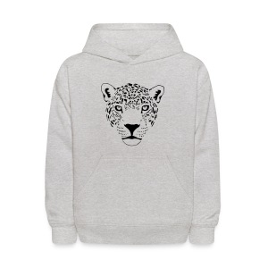 animal t-shirt jaguar cougar cat puma tiger panther leopard cheetah lion - Kids' Hoodie