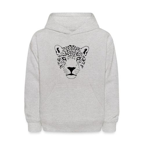 animal t-shirt jaguar cougar cat puma tiger panther leopard cheetah lion - Kids' Hoodie