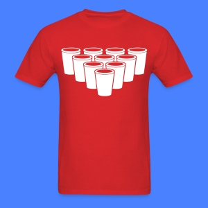 Beer Pong Cups - stayflyclothing.com T-Shirts - Men's T-Shirt