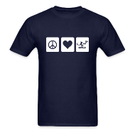 T-Shirts ~ Men's T-Shirt ~ Peace Love Spirit