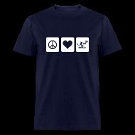 T-Shirts ~ Men's T-Shirt ~ Peace Love Spirit