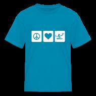 Kids' Shirts ~ Kids' T-Shirt ~ Peace Love Spirit