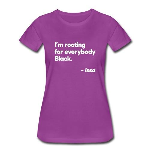 Everybody Black Women's T-Shirt - Women's Premium T-Shirt