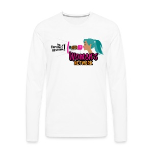 Men's Cheer 4HER Long Sleeve Shirt - Men's Premium Long Sleeve T-Shirt