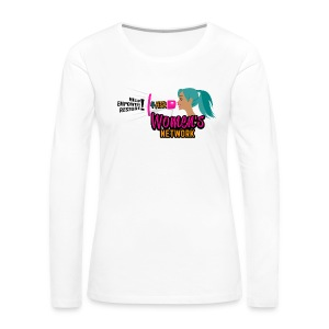 Women's Cheer 4HER Long Sleeve Shirt - Women's Premium Long Sleeve T-Shirt
