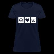 T-Shirts ~ Women's T-Shirt ~ Peace Love Spirit