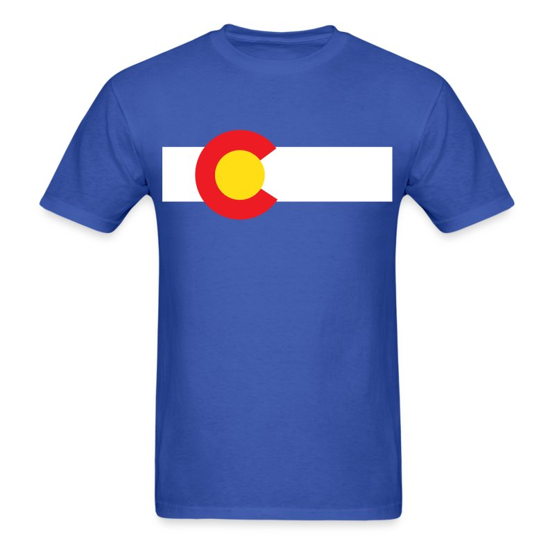 colorado state flag t shirt t shirt spreadshirt