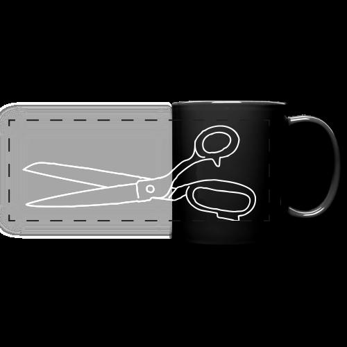 SCISSORS - Full Color Panoramic Mug