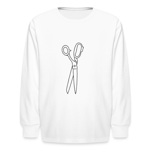 SCISSORS - Kids' Long Sleeve T-Shirt
